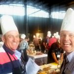 Getting ready for a hands-on cooking event in Adelaide